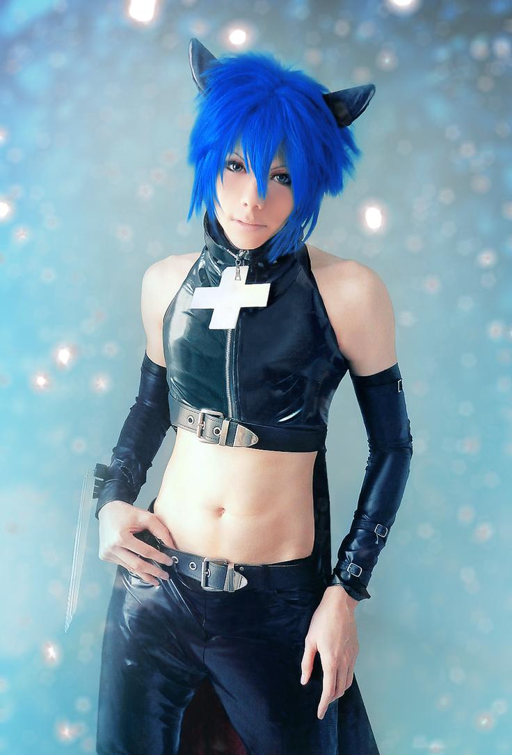 Shugo Chara - Black Lynx cosplay II by Akitozz6