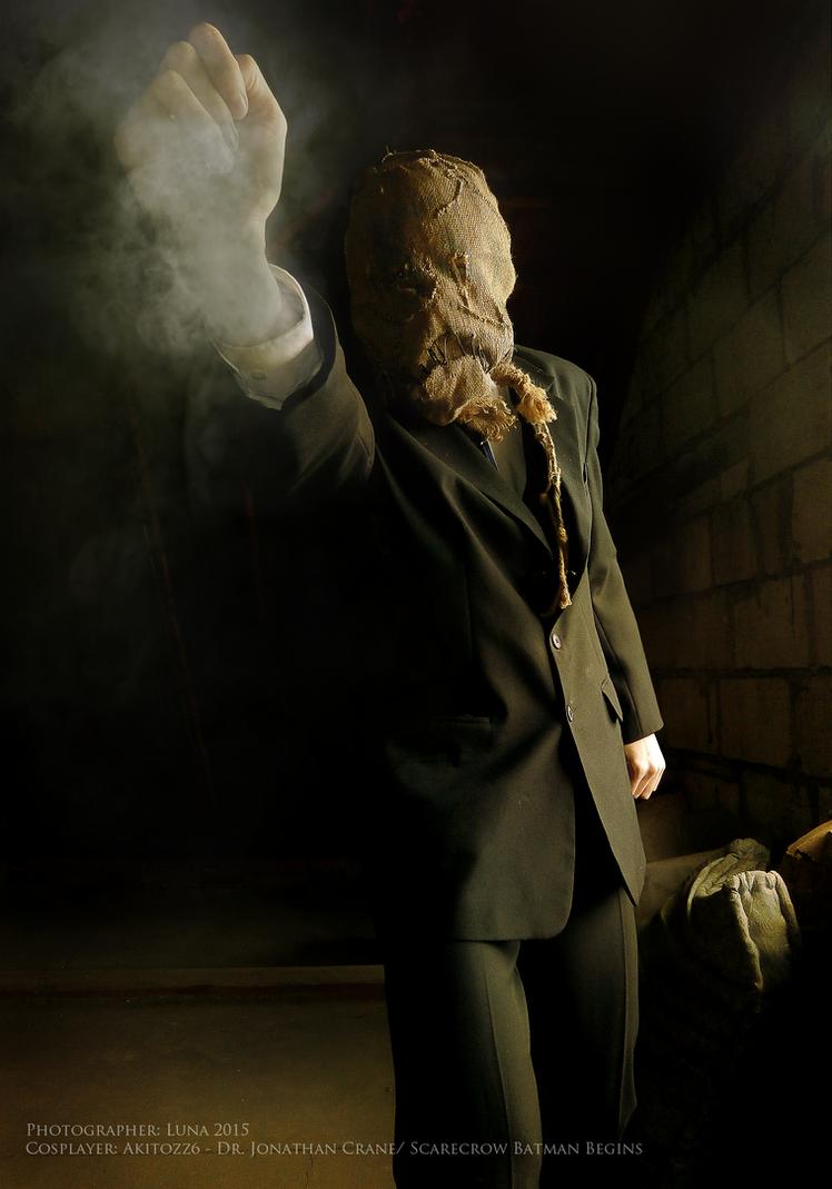 Batman Begins - Scarecrow cosplay II by Akitozz6