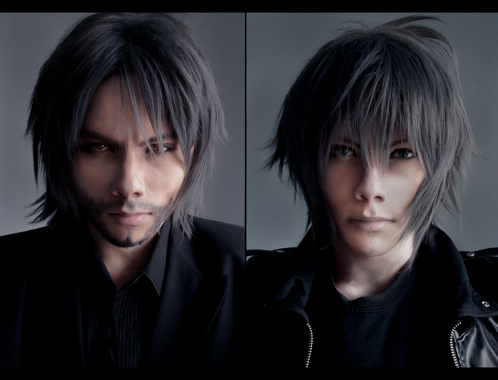 Old Noctis Ffxv: Then And Now By Akitozz6 On DeviantArt