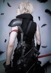 FF7 AC Cloud Strife cosplay V2019
