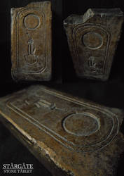 Stargate - Stone tablet replica
