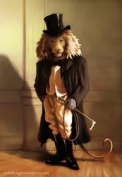 Fancy Lion by sydniart