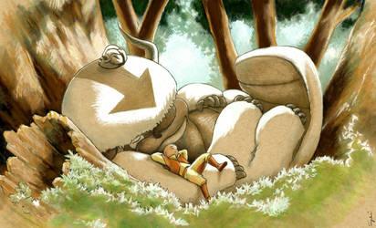 Appa/Totoro (finished)