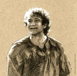 Robin Williams by sydniart