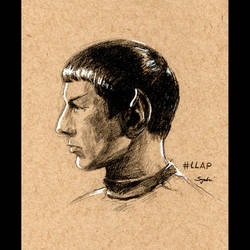 Spock by sydniart