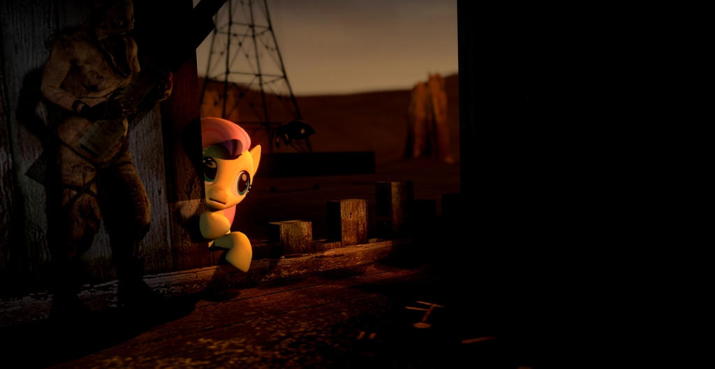 Fluttershy And Grunt Amnesia The Dark Descent By