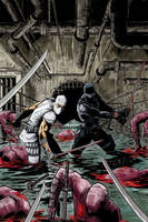 Storm Shadow Snake Eyes colors by davidnewbold