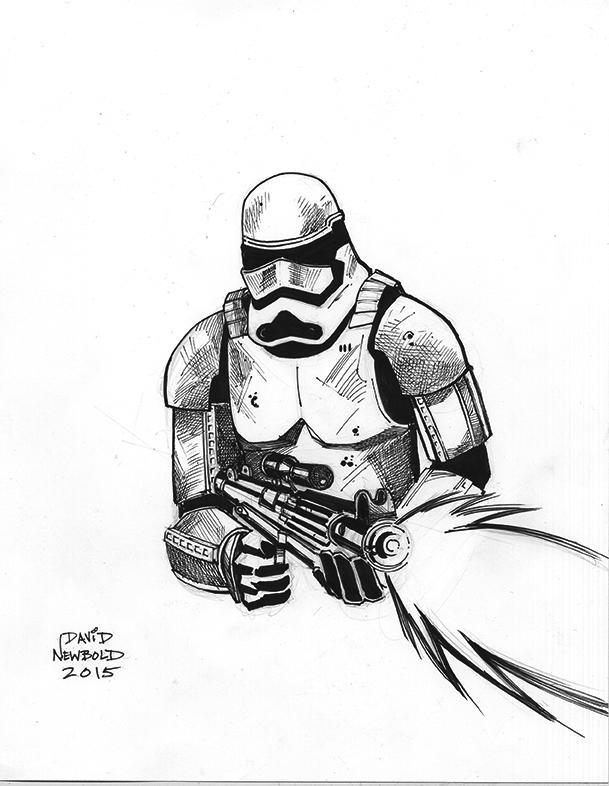 Stormtrooper by davidnewbold