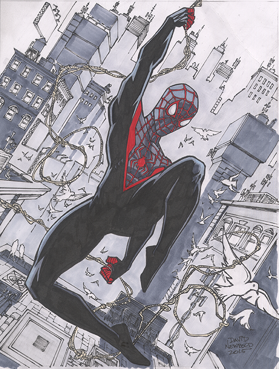 Spideymorales272 by davidnewbold