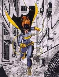 Batgirlclr72 by davidnewbold