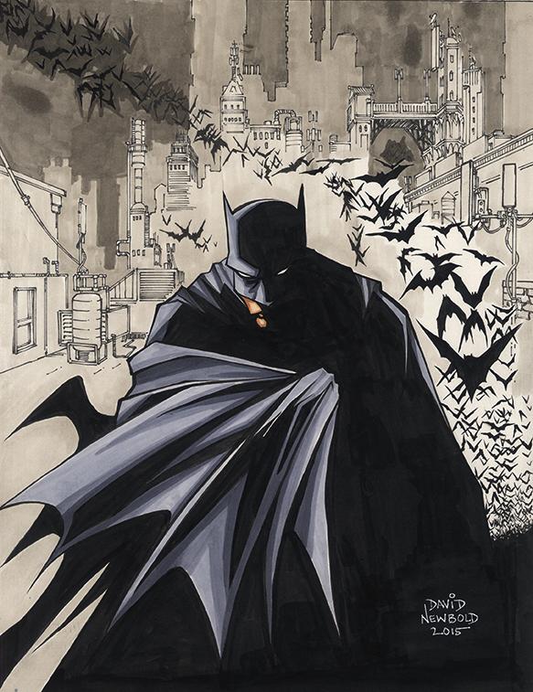 Batman Sketchie by davidnewbold