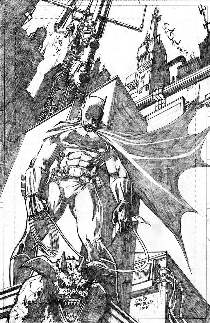 Batman by davidnewbold