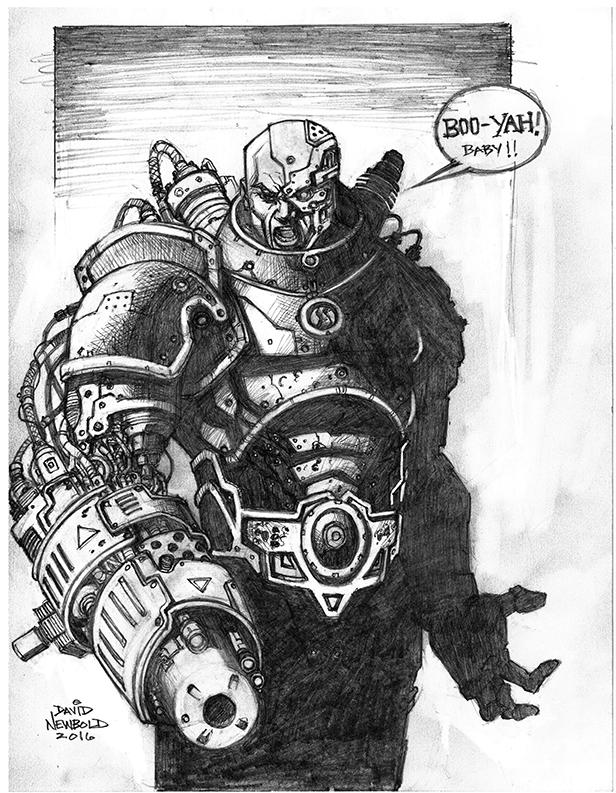 Cyborg by davidnewbold