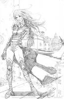 Witchblade by davidnewbold