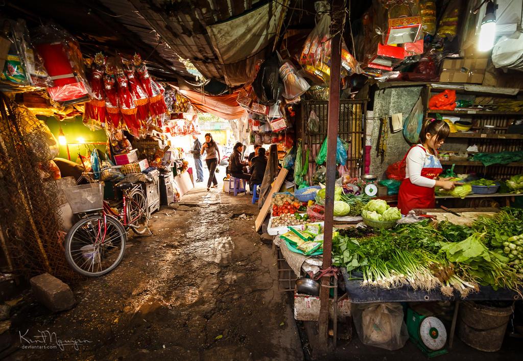 Kim Lien Market by kentnek
