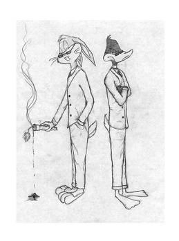 Fritz and Kadaf fan art