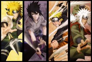 Naruto Jiraya Minato Sasuke