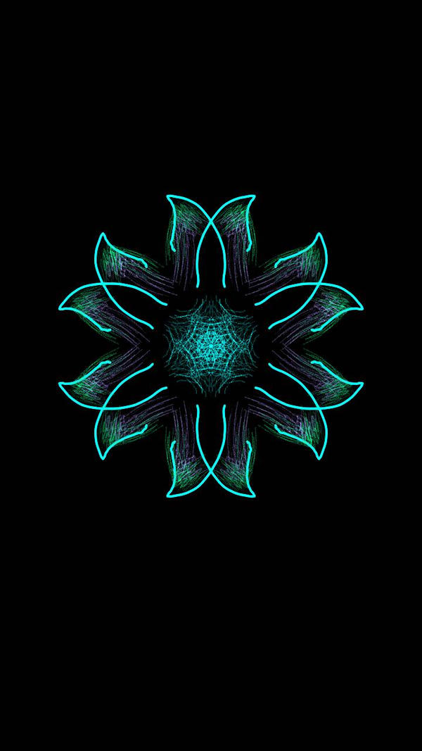 Solid Blue Star by Mandita219