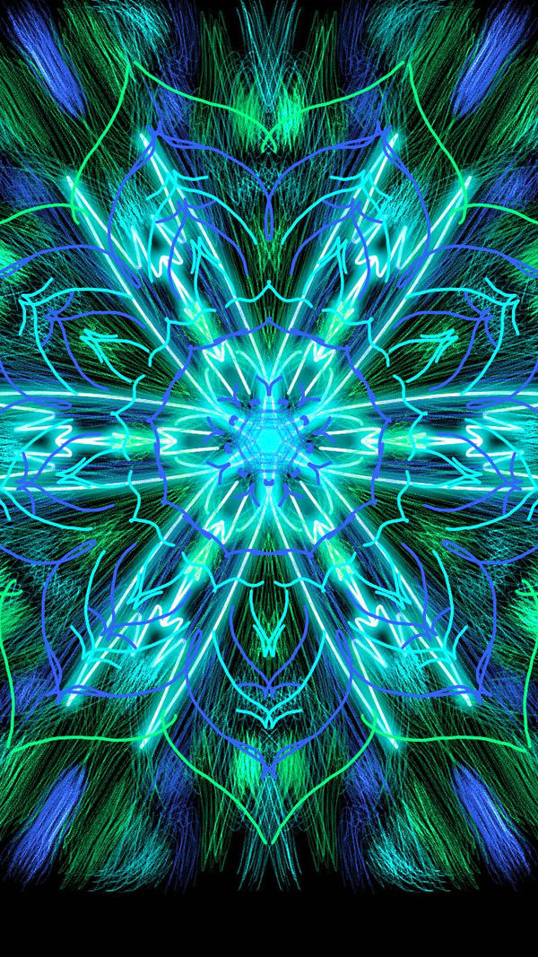 Turquoise Glow by Mandita219