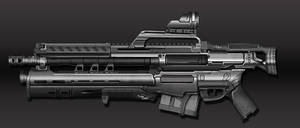 Assault_Rifle by Sanset