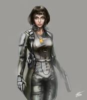 Agent Aurora by Sanset