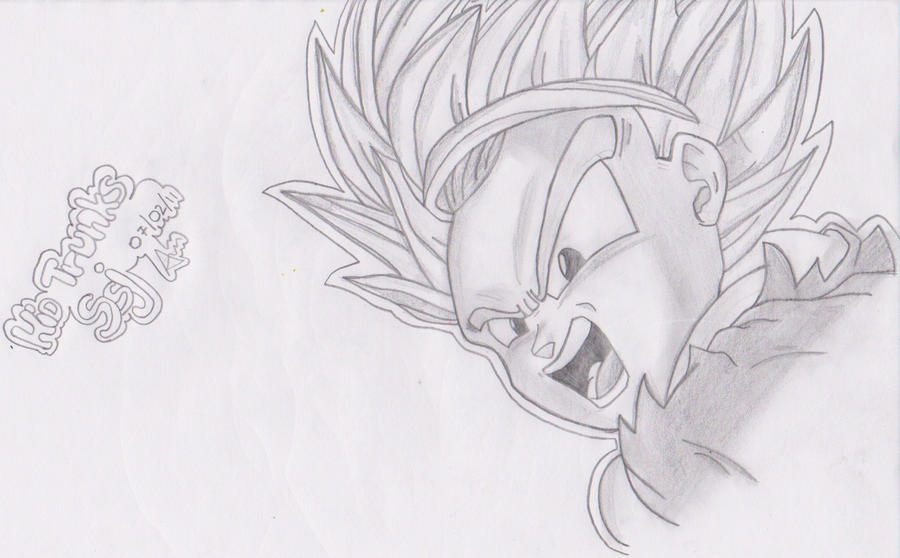 Dragons Drawings For Kids Kid Trunks Ssj Dragon Ball z