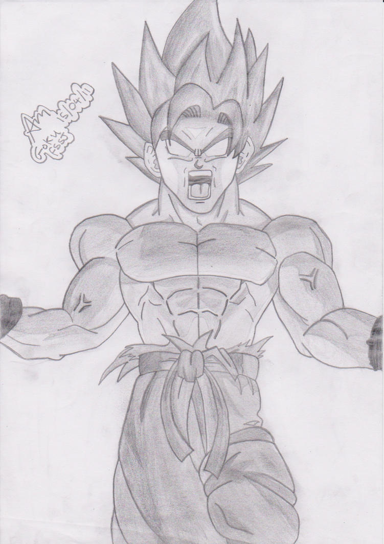Goku Super Saiyan 5 Drawings Goku Super Saiyan...751