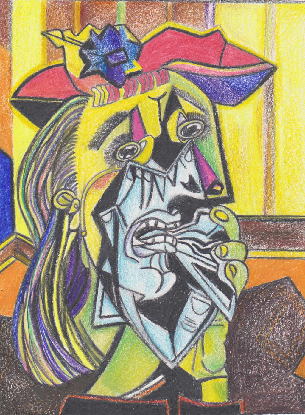 """weeping woman picasso essay Biography the life of pablo picasso   carl einstein published his essay """"pablo picasso:  painted the weeping woman (mp165) and the suppliant."""