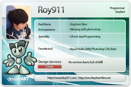 Roy911's Profile Picture