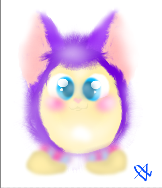 Little Fluffy Demon by ComicKoey