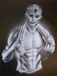 Thane Krios (2015) by Angua33