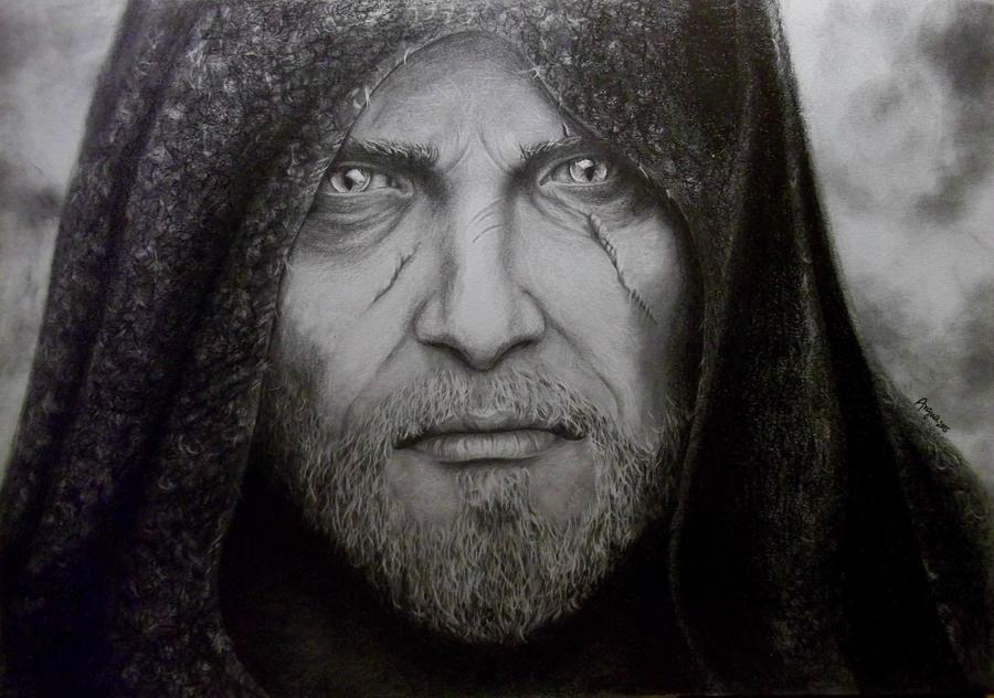 Geralt Wiedzmin by Angua33