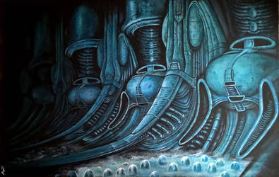 Alien chamber by Angua33