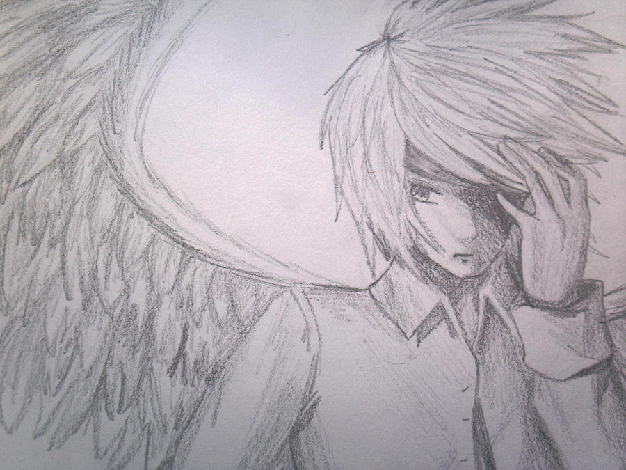 Anime angel guy by animeobsessed24