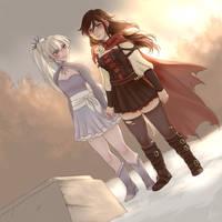 Winter visit - Commission by yuri-murasaki