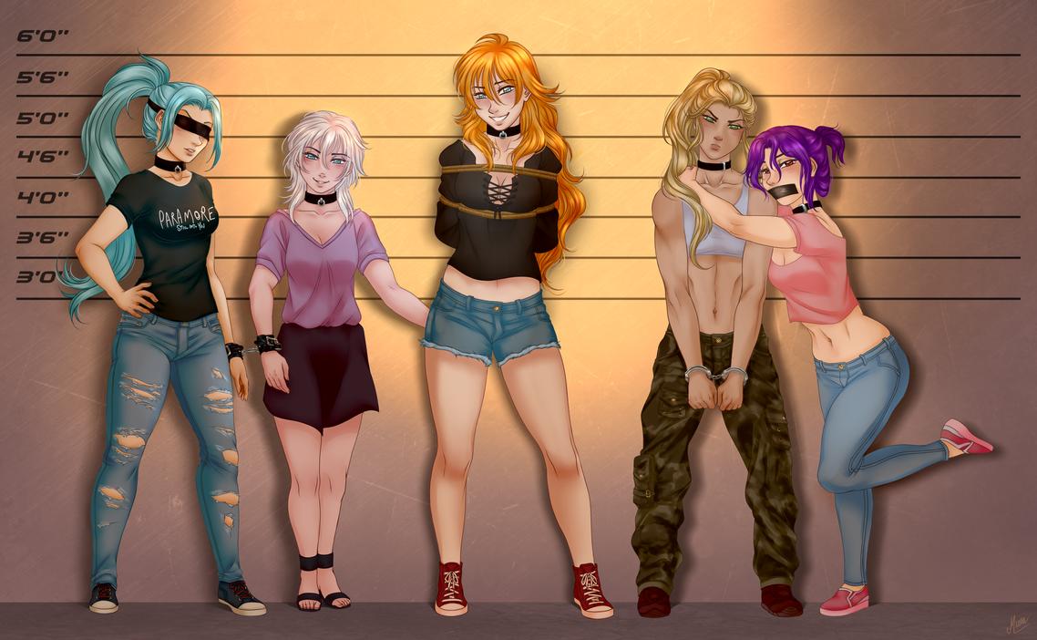 Police lineup Comission by yuri-murasaki