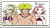 NaruSakuIno  Stamps by RyrineaNara