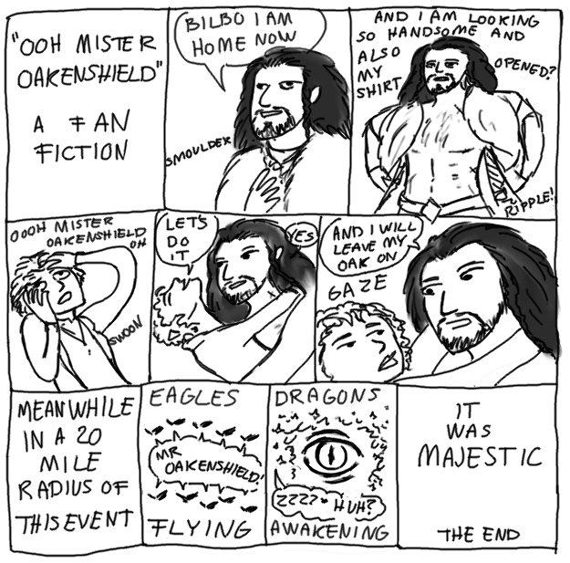 The Hobbit: A Fan Fiction by Nenja-Black