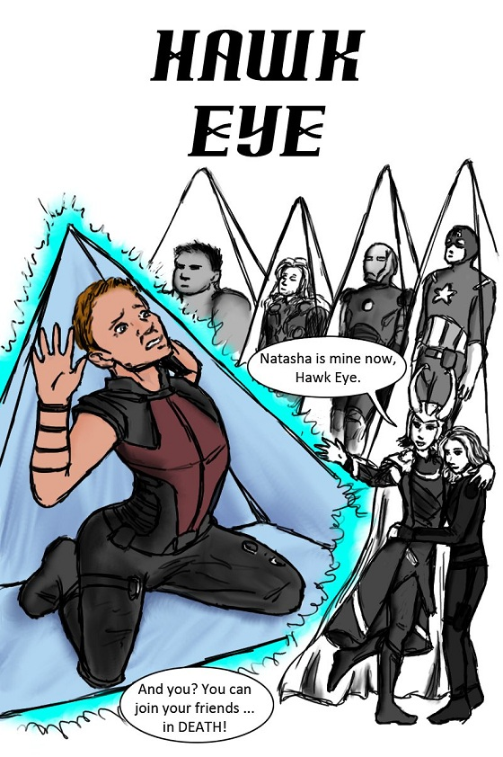 Hawkeye Initiative by Nenja-Black