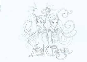 Alek and Deryn by Michiru-chan23