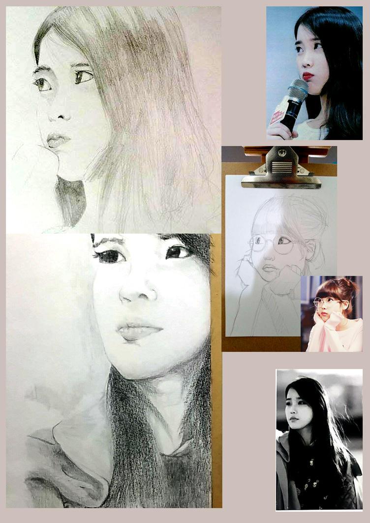 IU Portraits by Ticocept