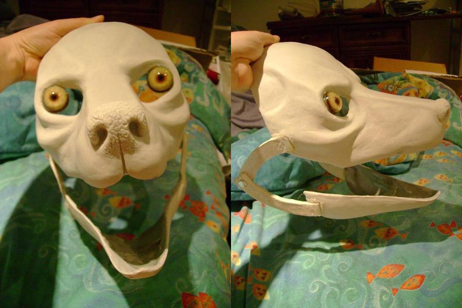 Making A Furry Chibi Cat Mask