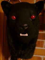 'Redeye' - Black Jaguar by wynderkind