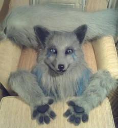Commission: Fiagai [Silver Fox] by wynderkind