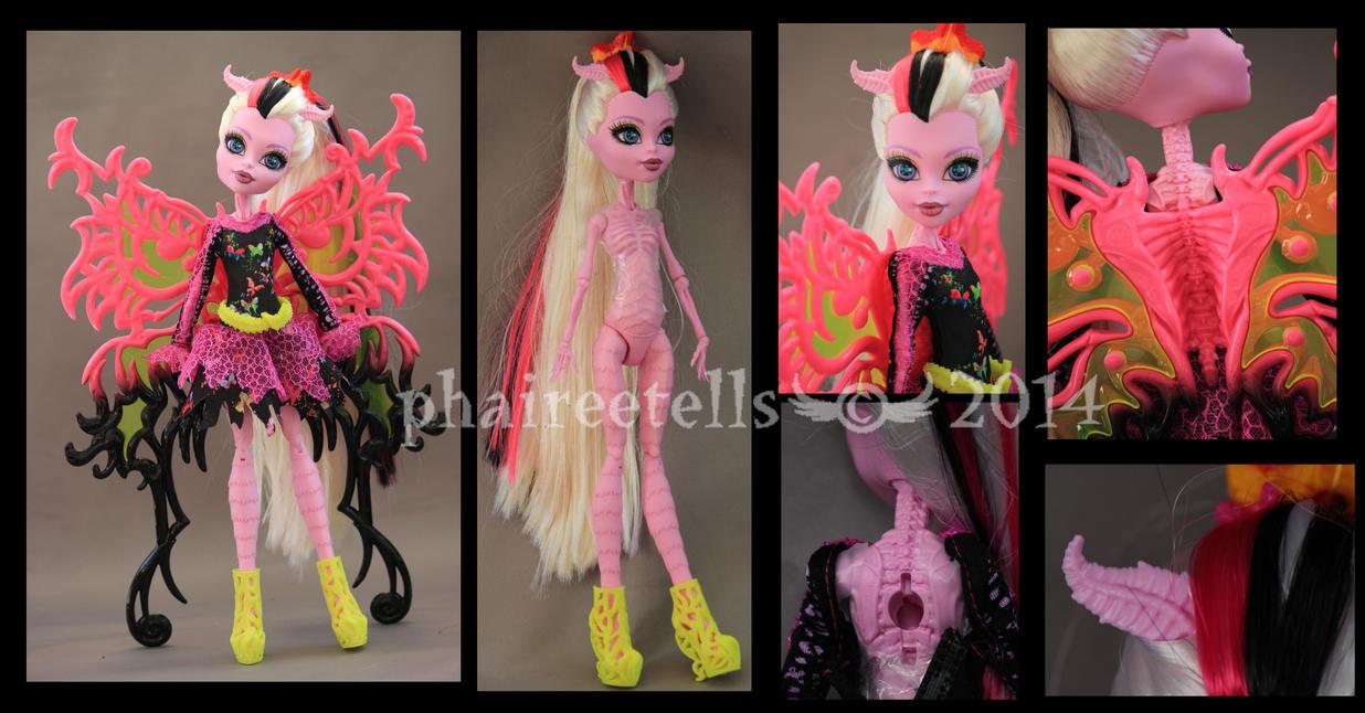 Monster high freaky fusion bonita femur details by - Monster high bonita ...