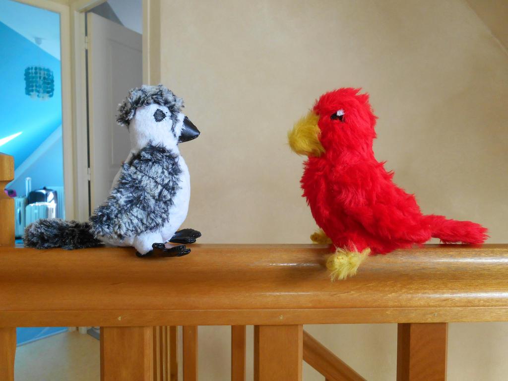 Bird Plushies For Sale By Lehibouvoyageur On Deviantart