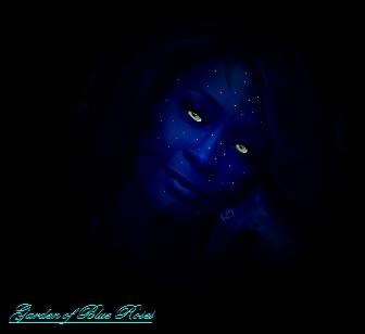 ..::Whitney Houston as a Na'vi::.. by gardenofblueroses