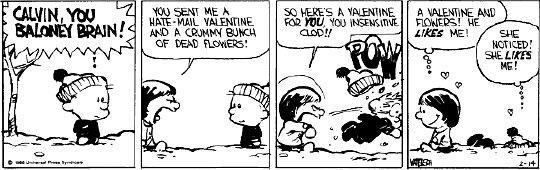 Calvin and Susie by xXstarrXeyedXgurlXx
