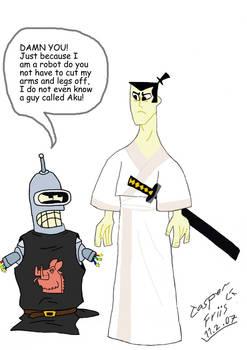 Bender the Black Knight