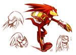 Knuckles doodles